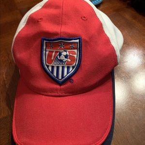 Boys US soccer hat